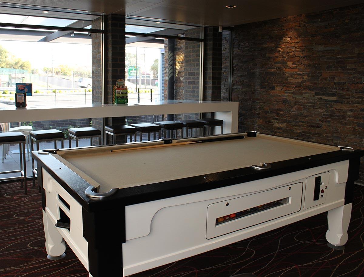 westside hotel bar facilities pool table