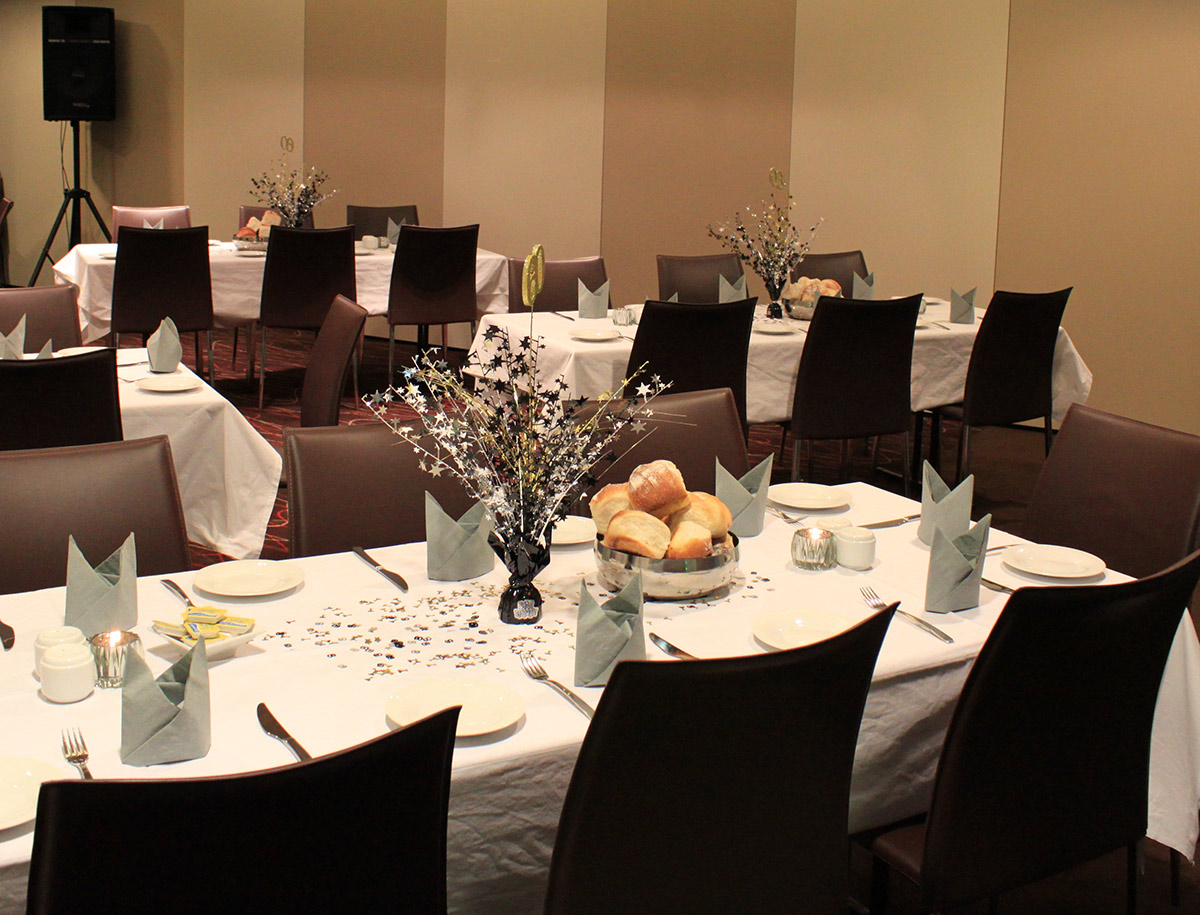 Westside function room is ideal for conferences