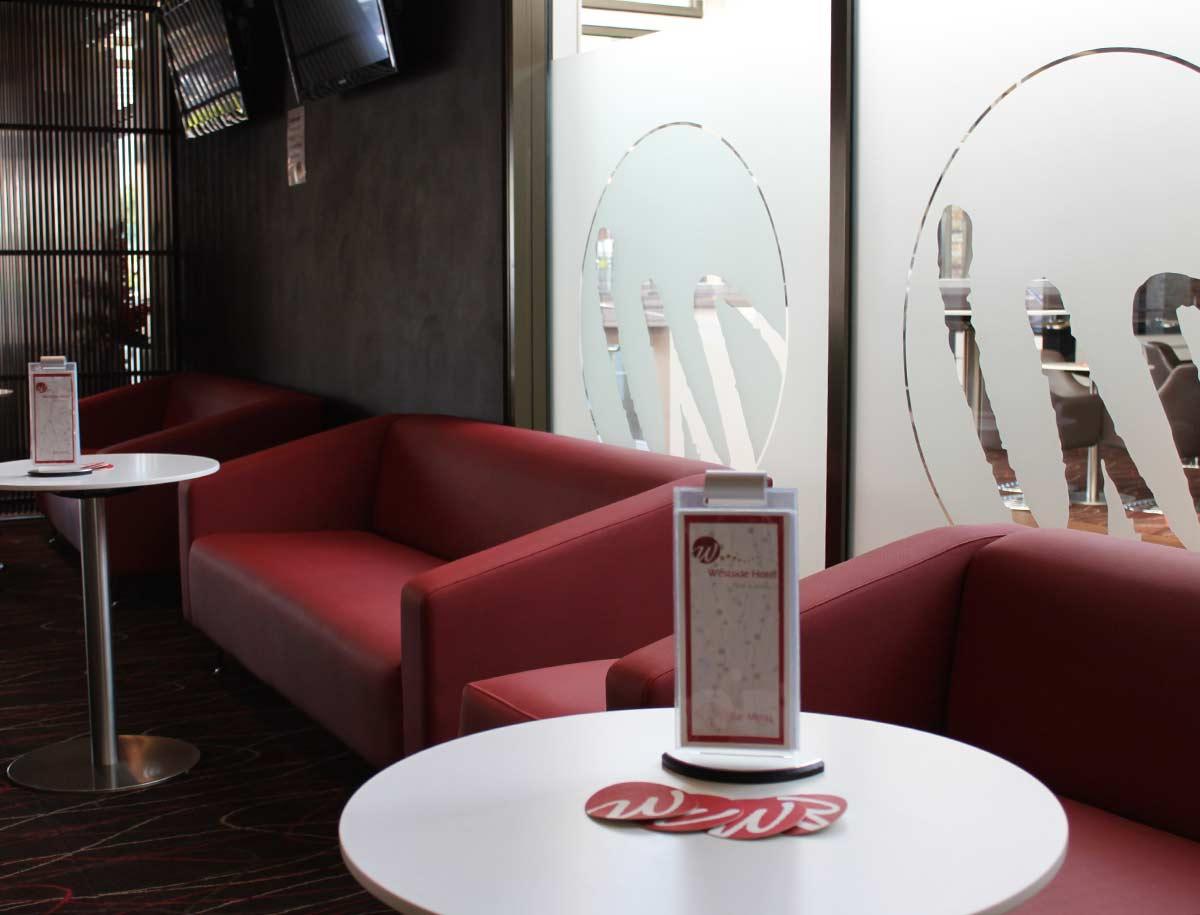 Westside hotel lounge bar
