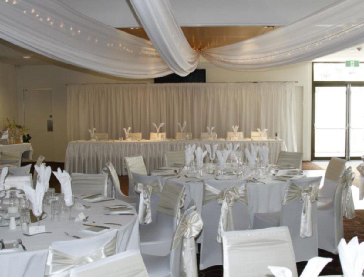 Westside function room is perfect for weddings